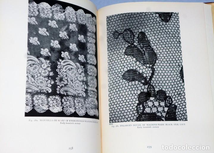 Libros antiguos: HISPANIC LACE AND LACE MAKING.(sobre el encaje español, con 432 ilustraciones) - Foto 6 - 166341302