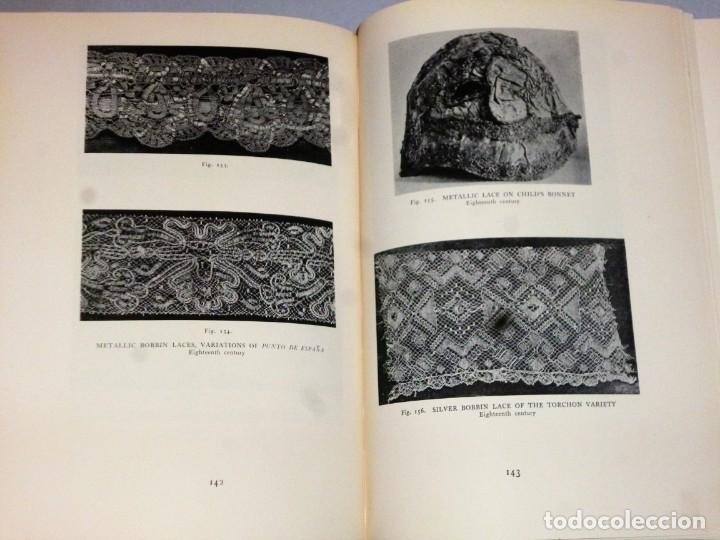 Libros antiguos: HISPANIC LACE AND LACE MAKING.(sobre el encaje español, con 432 ilustraciones) - Foto 8 - 166341302
