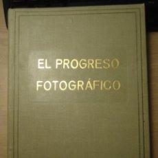 Libros antiguos: EL PROGRESO FOTOGRÁFICO, REVISTA MENSUAL, AÑO I, 1920, 6 PRIMERAS REVISTAS ENCUADERNADAS CON Nº SPÉC. Lote 166800334