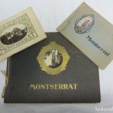 Libros antiguos: TRES ÁLBUMES FOTOGRÁFICOS DE MONTSERRAT CIRCA 1930. Lote 168110972