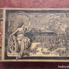 Libros antiguos: BARCELONA ARTISTICA E INDUSTRIAL AÑO 1919 ALBUM DE FOTOGRAFIAS RESUMEN HISTORICO DE LA CIUDAD. Lote 169184572