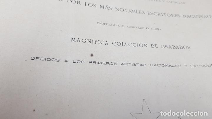 Libros antiguos: LA ILUSTRACIÓN ARTÍSTICA TOMO X 1891 MONTANER Y SIMÓN , MAGNIFICOS GRABADOS - Foto 2 - 169282112
