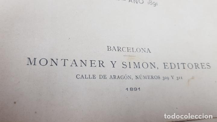Libros antiguos: LA ILUSTRACIÓN ARTÍSTICA TOMO X 1891 MONTANER Y SIMÓN , MAGNIFICOS GRABADOS - Foto 3 - 169282112