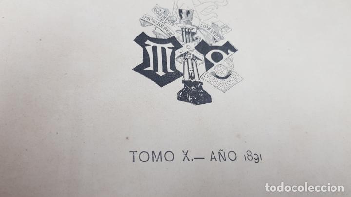 Libros antiguos: LA ILUSTRACIÓN ARTÍSTICA TOMO X 1891 MONTANER Y SIMÓN , MAGNIFICOS GRABADOS - Foto 4 - 169282112