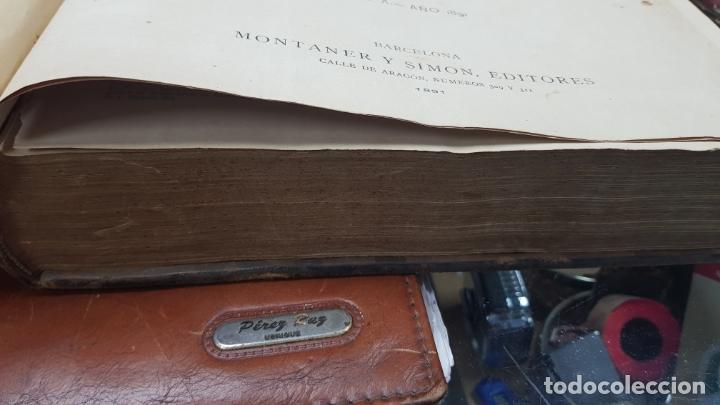 Libros antiguos: LA ILUSTRACIÓN ARTÍSTICA TOMO X 1891 MONTANER Y SIMÓN , MAGNIFICOS GRABADOS - Foto 8 - 169282112
