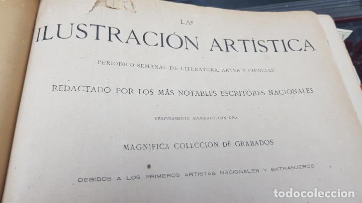 LA ILUSTRACIÓN ARTÍSTICA TOMO X 1891 MONTANER Y SIMÓN , MAGNIFICOS GRABADOS (Libros Antiguos, Raros y Curiosos - Bellas artes, ocio y coleccion - Diseño y Fotografía)