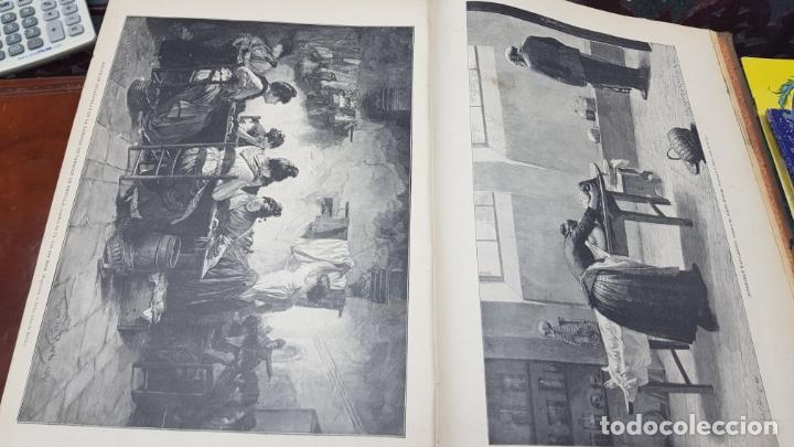 Libros antiguos: LA ILUSTRACIÓN ARTÍSTICA TOMO X 1891 MONTANER Y SIMÓN , MAGNIFICOS GRABADOS - Foto 20 - 169282112