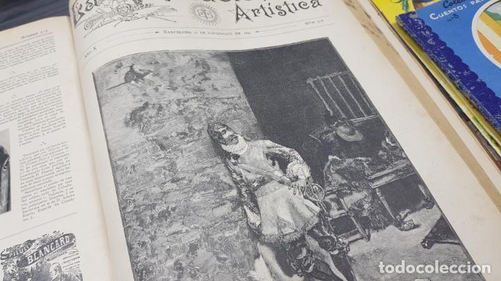 Libros antiguos: LA ILUSTRACIÓN ARTÍSTICA TOMO X 1891 MONTANER Y SIMÓN , MAGNIFICOS GRABADOS - Foto 22 - 169282112