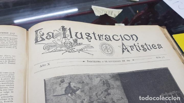 Libros antiguos: LA ILUSTRACIÓN ARTÍSTICA TOMO X 1891 MONTANER Y SIMÓN , MAGNIFICOS GRABADOS - Foto 23 - 169282112
