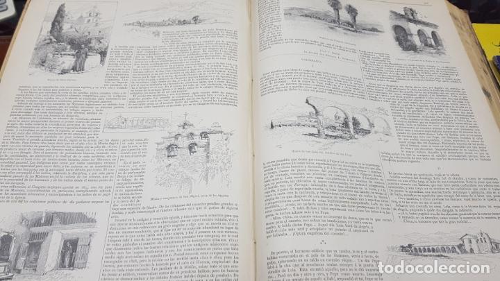 Libros antiguos: LA ILUSTRACIÓN ARTÍSTICA TOMO X 1891 MONTANER Y SIMÓN , MAGNIFICOS GRABADOS - Foto 24 - 169282112