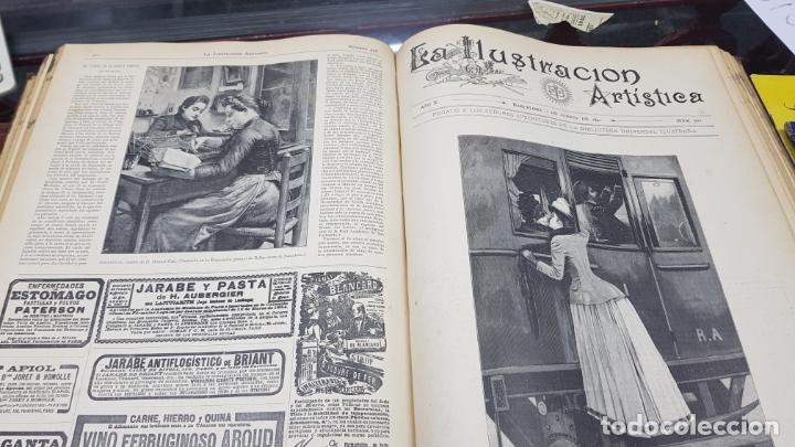 Libros antiguos: LA ILUSTRACIÓN ARTÍSTICA TOMO X 1891 MONTANER Y SIMÓN , MAGNIFICOS GRABADOS - Foto 25 - 169282112