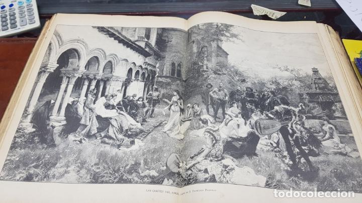 Libros antiguos: LA ILUSTRACIÓN ARTÍSTICA TOMO X 1891 MONTANER Y SIMÓN , MAGNIFICOS GRABADOS - Foto 28 - 169282112