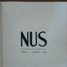 Libros antiguos: LIBRO NUS ZOLTAN GLASS PHOTOGRAPHIE. Lote 170214462