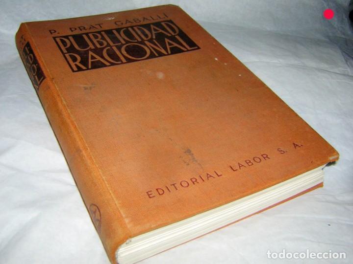 PUBLICIDAD RACIONAL P. PRAT GABALLI, 1934 (Libros Antiguos, Raros y Curiosos - Bellas artes, ocio y coleccion - Diseño y Fotografía)