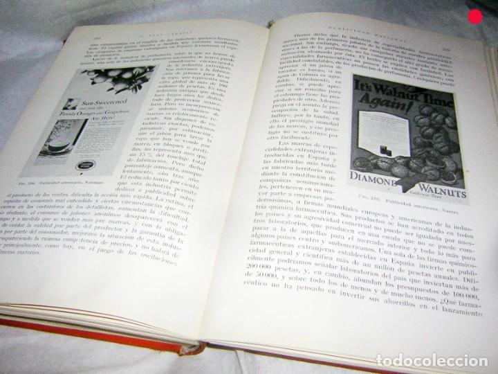 Libros antiguos: PUBLICIDAD RACIONAL P. PRAT GABALLI, 1934 - Foto 5 - 171830097