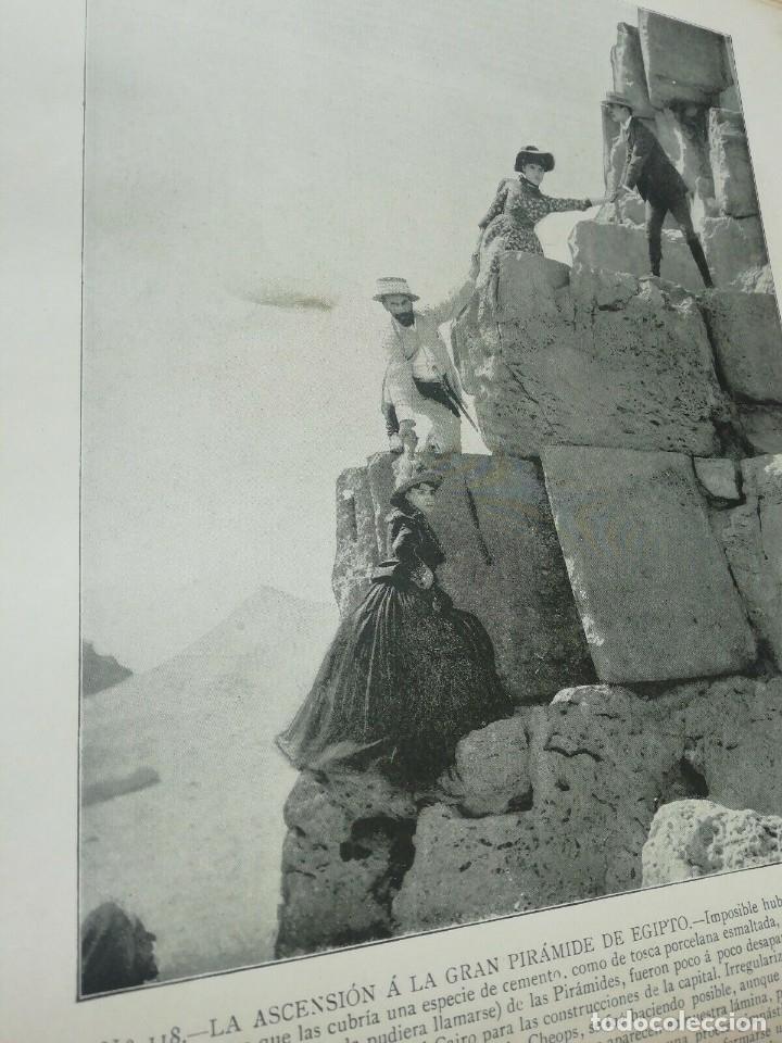 Libros antiguos: Portafolio de Fotografias . Paisajes , Ciudades ,Indigenas ...Madrid . 1896 - Foto 3 - 172255163