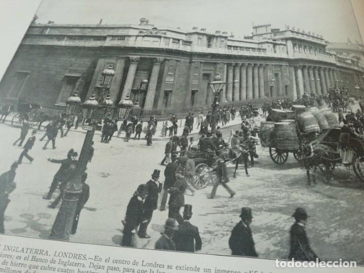 Libros antiguos: Portafolio de Fotografias . Paisajes , Ciudades ,Indigenas ...Madrid . 1896 - Foto 4 - 172255163