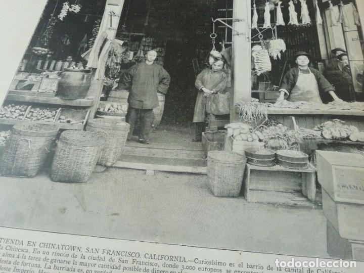 Libros antiguos: Portafolio de Fotografias . Paisajes , Ciudades ,Indigenas ...Madrid . 1896 - Foto 5 - 172255163