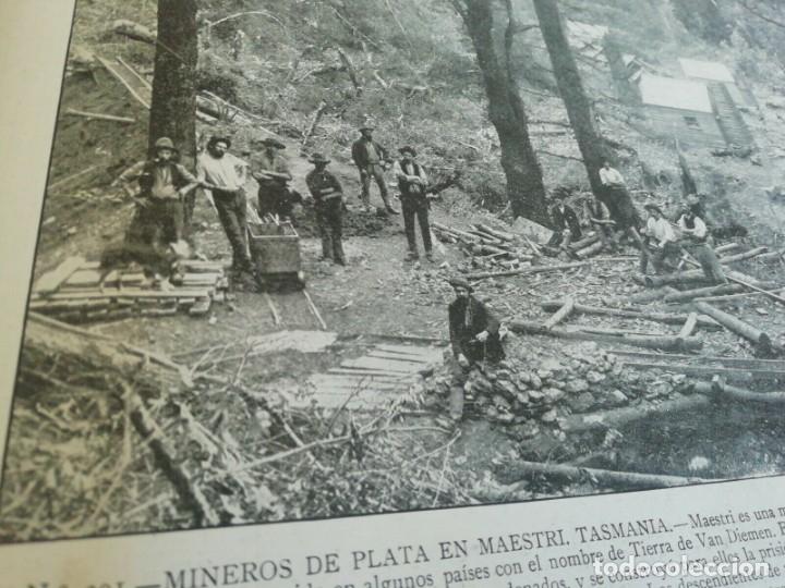Libros antiguos: Portafolio de Fotografias . Paisajes , Ciudades ,Indigenas ...Madrid . 1896 - Foto 7 - 172255163