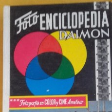 Libros antiguos: FOTOGRAFIA COLOR Y CINE AMATEUR 1970 DAIMON. Lote 173123702