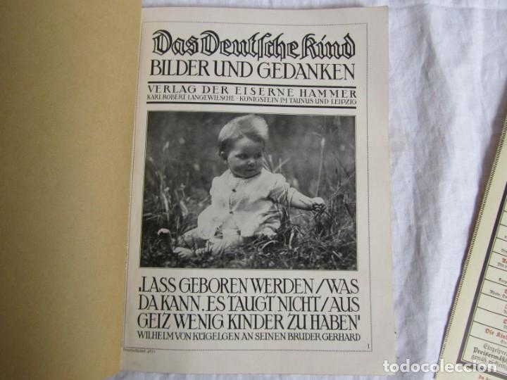 Libros antiguos: Libro de fotografías Das Deutfchekind (El niño alemán), años 20 - Foto 8 - 173152332