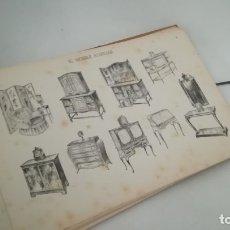 Libros antiguos: EL MUEBLE AUXILIAR. ANTIGUA CARPETA DE 25 LÁMINAS.. Lote 173261483