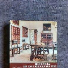 Libros antiguos: HISTORIA DE LOS ESTILOS DEL MUEBLE ESPAÑOL / LUIS FEDUCHI 1969 - BLUME. Lote 173354969