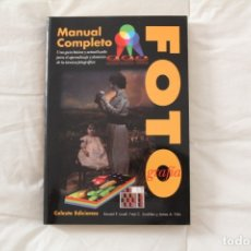 Libros antiguos: LIBRO MANUAL COMPLETO DE FOTOGRAFÍA.. Lote 174296413