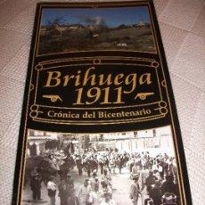 Livros antigos: CATALOGO EXPOSICION BRIHUEGA 1911 CRONICA BICENTENARIO FOTOGRAFIA MILITAR VILLAVICIOSA GUADALAJARA. Lote 174400365