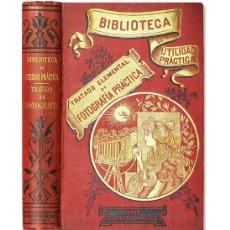 Libros antiguos: NIEWENGLOWSKI (G.-H.).– TRATADO ELEMENTAL DE FOTOGRAFÍA PRÁCTICA. GARNIER, (C. 1900). ILUSTRADO. Lote 175760805