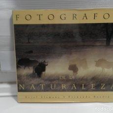 Libros antiguos: FOTOGRAFOS DE LA NATURALEZA DE ORIOL ALAMANY Y FERNANDO BADIN FOTOGRAFIA. Lote 176479054