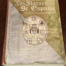 Libros antiguos: LAS MARAVILLAS DE ESPAÑA. REVISTA ILUSTRADA TRILINGÜE. NUMERO EXTRAORDINARIO DEDICADO A LA REGION DE. Lote 176513432