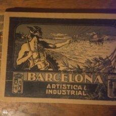 Livros antigos: BARCELONA ARTÍSTICA E INDUSTRIAL. LUJOSO ÁLBUM DE FOTOGRAFÍAS CON UN RESUMEN HISTÓRICO, 1907. Lote 176595044