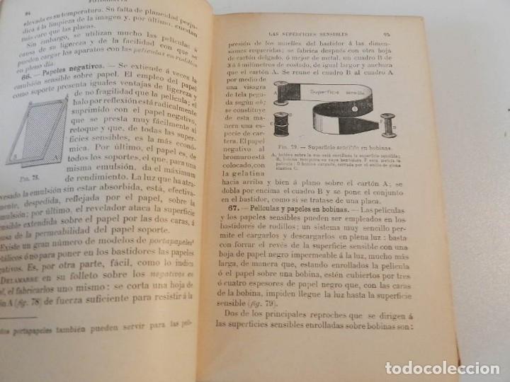 Libros antiguos: TRATADO DE FOTOGRAFIA PRACTICA NIEWENGLOWSKI 1900 ILUSTRADO 1ª EDICIÓN - LIBRO FOTOGRAFÍA - Foto 3 - 178055435