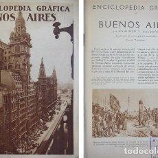 """Libros antiguos: CALCAÑO, EDMUNDO T. BUENOS AIRES. 1930 (""""ENCICLOPEDIA GRÁFICA"""").. Lote 178775645"""