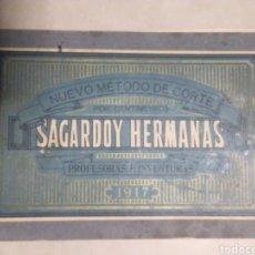Libros antiguos: NUEVO MÉTODO DE CORTE SARGADOY HERMANAS. ;1917. Lote 180149227
