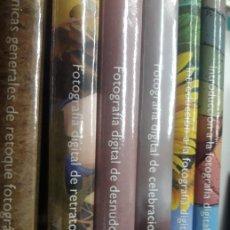 Libros antiguos: COLECCION BASICA DE FOTOGRAFIA DIGITAL VARIOS AUTORES. Lote 180934648