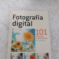 Libros antiguos: FOTOGRAFIA DIGITAL 101 PREGUNTAS FUNDAMENTALES LES MEEHAN. Lote 181510352