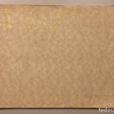 Libros antiguos: EXPOSICIÓN INTERNACIONAL BARCELONA. MCMXXIX. 1929. 57 FOTOGRAFÍAS Y DESPLEGABLE!. Lote 182912736