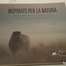 Libros antiguos: INSPIRATS PER LA NATURA MONTPHOTO. Lote 183027785
