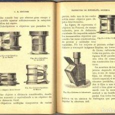 Libros antiguos: ELEMENTOS DE FOTOGRAFÍA MODERNA - ESCUDER -1932 . Lote 183830432