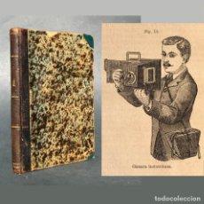 Libros antiguos: AÑO 1887 ABC DE LA FOTOGRAFIA MODERNA - PLACAS SECAS Á LA GELATINA - CÁMARA FOTOGRÁFICA O CÁMARA DE . Lote 184623561