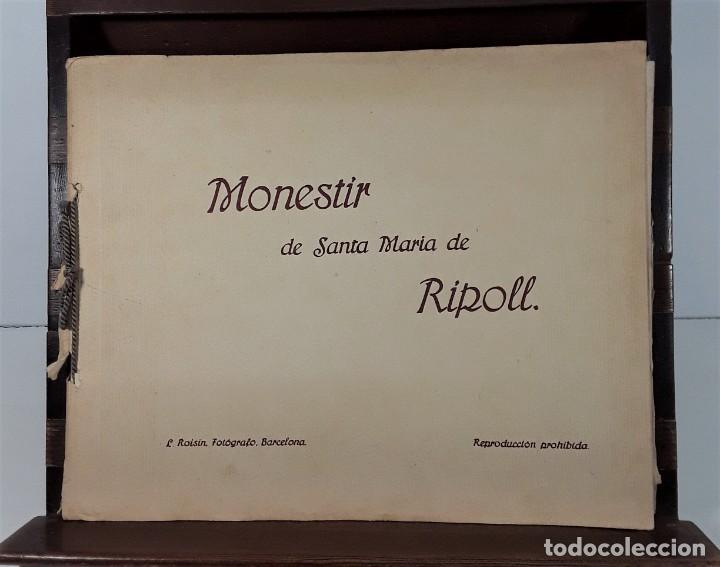Libros antiguos: MONESTIR DE SANTA MARÍA DE RIPOLL. L. ROISIN. BARCELONA. SIGLO XX. - Foto 2 - 168797924