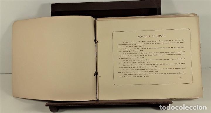 Libros antiguos: MONESTIR DE SANTA MARÍA DE RIPOLL. L. ROISIN. BARCELONA. SIGLO XX. - Foto 3 - 168797924