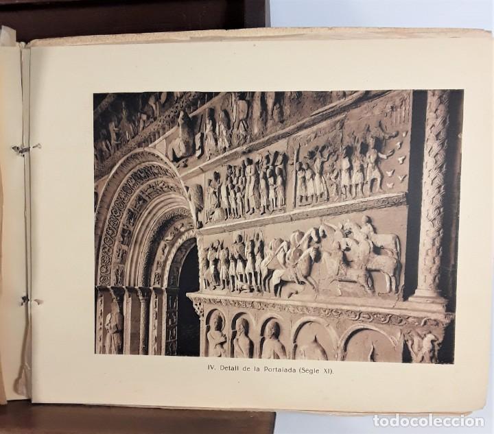 Libros antiguos: MONESTIR DE SANTA MARÍA DE RIPOLL. L. ROISIN. BARCELONA. SIGLO XX. - Foto 7 - 168797924