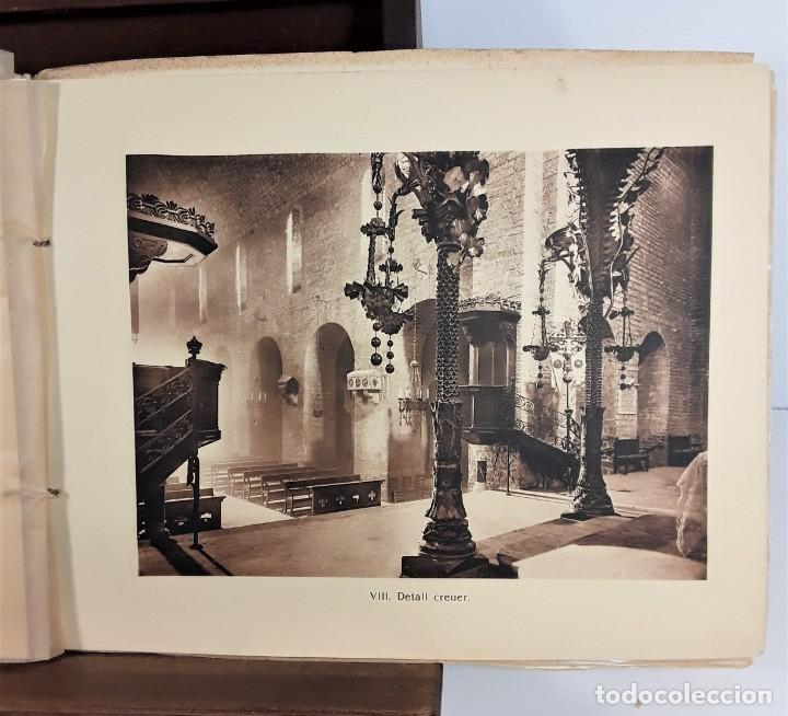 Libros antiguos: MONESTIR DE SANTA MARÍA DE RIPOLL. L. ROISIN. BARCELONA. SIGLO XX. - Foto 9 - 168797924