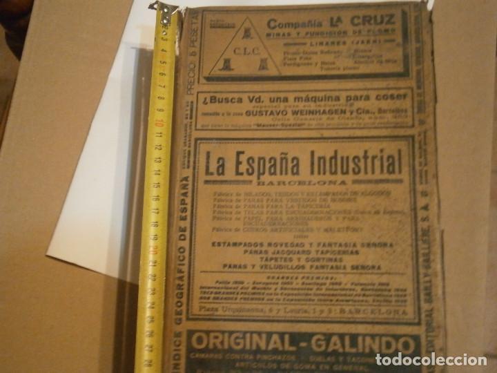 Libros antiguos: ANUARIO GENERAL DE ESPAÑA 1931¡TOMO 2¡¡BARCELONA-CORUÑA,UNICO EN TC - Foto 6 - 188518791
