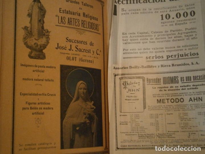 Libros antiguos: ANUARIO GENERAL DE ESPAÑA 1931¡TOMO 2¡¡BARCELONA-CORUÑA,UNICO EN TC - Foto 9 - 188518791