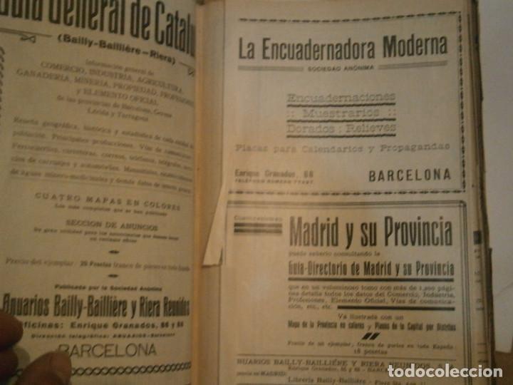 Libros antiguos: ANUARIO GENERAL DE ESPAÑA 1931¡TOMO 2¡¡BARCELONA-CORUÑA,UNICO EN TC - Foto 11 - 188518791