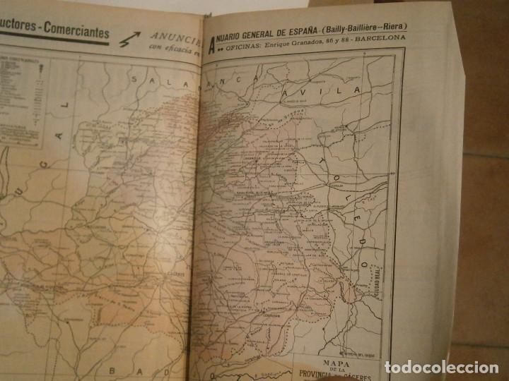 Libros antiguos: ANUARIO GENERAL DE ESPAÑA 1931¡TOMO 2¡¡BARCELONA-CORUÑA,UNICO EN TC - Foto 13 - 188518791